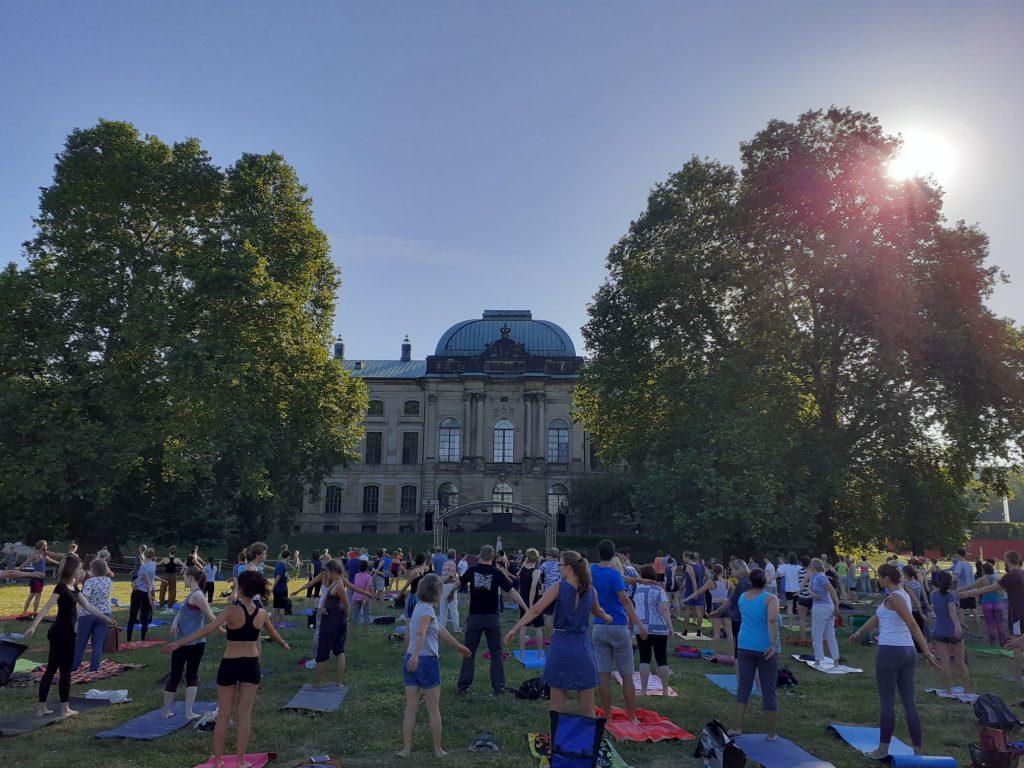 Qi Gong Dresden Regina Herrmann Palais sommer