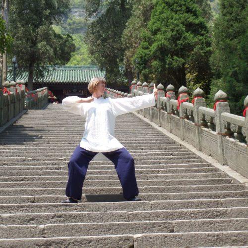 """Schön, dass Du neugierig auf einen Qi Gong Kurs oder auch auf Einzelstunde/n bist. Wenn Du wissen möchtest, was Du in den Kursen erfahren kannst, dann lies Dich gern durch alle Infos dieses Webs. Es gibt auf jeder der Seiten etwas zu enddecken. Aus einer über 10jährigen Qi Gong Erfahrung erhältst Du genau das, was Du Dir nimmst. Das können ganz verschiedene Dinge sein, von Bewegungsabläufen über Hintergrundwissen zur Traditionell Chinesischen Medizin, über Ernährung in der entsprechenden Jahreszeit, über Lebens-Weisheiten, die mich und die Menschen formen, bis hin zu einen ganz neuen Körpergefühl. Am besten Du nimmst Dir Deine Mischung aus allen mit nach Hause – in Dein """"Haus des Qi Gong""""."""